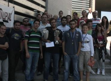 Φώτο από τον 1ο Σκακιστικό Μαραθώνιο Τριανδρίας-Θεσσαλονίκης 2012